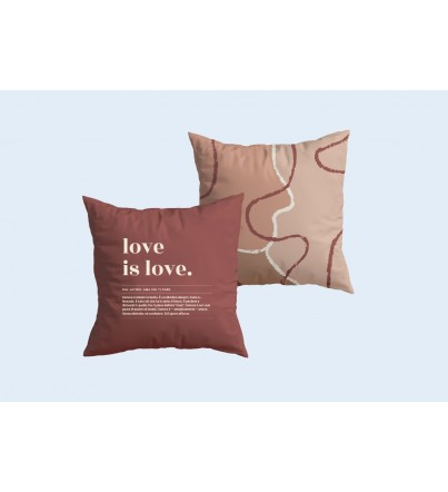 "Cuscino ""Love is love"" New collecction"