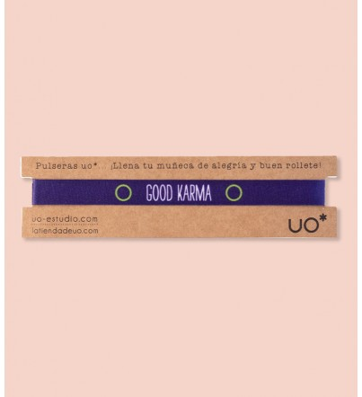 "Pulsera ""Good Karma"""
