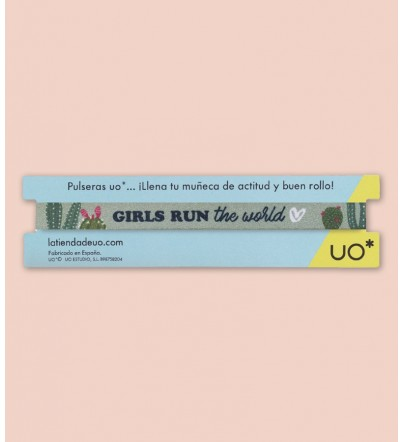 "Pulsera ""Girls run the world"""