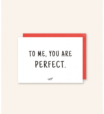 """Postal """"You are perfect"""""""