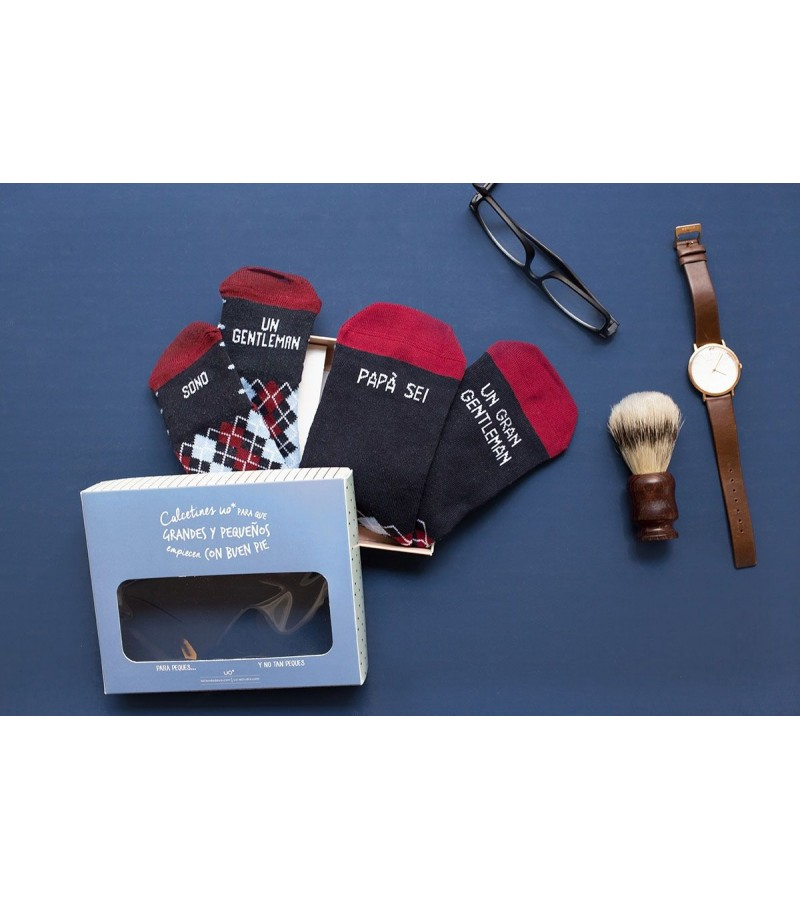 "Kit Grande e Mini ""Sono un Gentleman"""