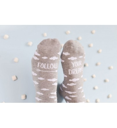 "Calcetines ""Follow your dreams"""